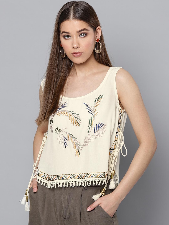 9bd28e715b158 Embellished Tops - Buy Embellished Top for Women   Girls