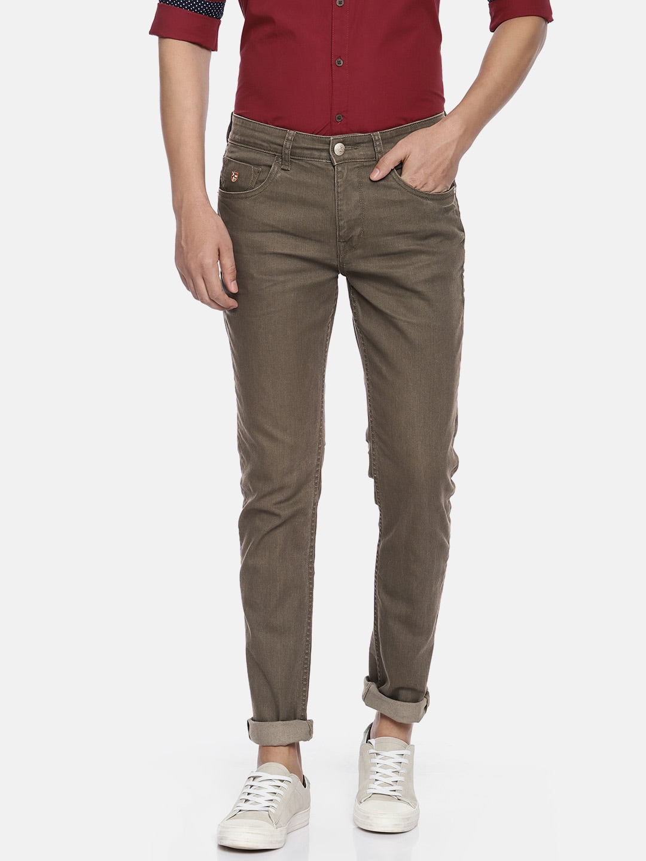 8e499879 Olive Green Men Jeans - Buy Olive Green Men Jeans online in India