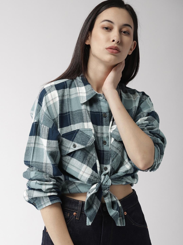f8e4682faf33a Women Shirts - Buy Shirts for Women Online in India