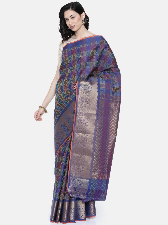 4c23b90a1d74a6 Cotton Silk Saree - Buy Cotton Silk Sarees Online