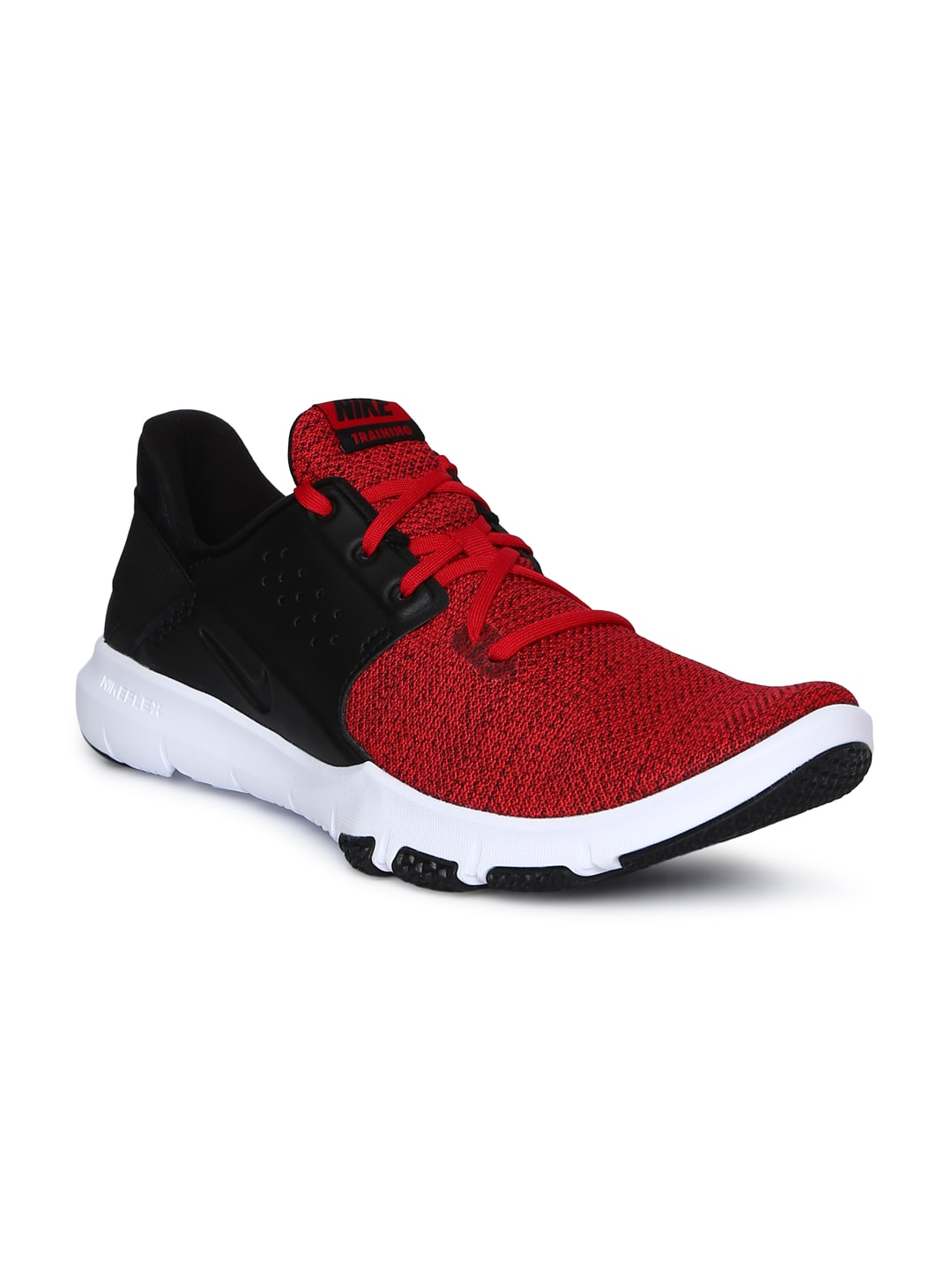 hot sale online 397d1 a0eff Nike Men Red & Black FLEX CONTROL TR3 Training Shoes