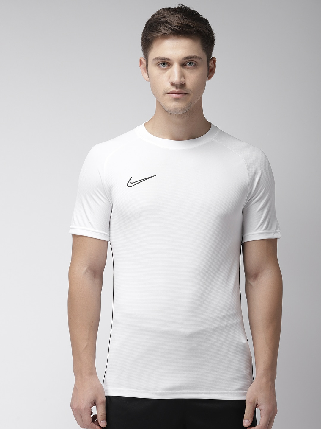 Men's Clothing Search For Flights 2018 Nike Academy 18 Mens Short Sleeve Football Training T-shirt Top Navy Royal Handsome Appearance Activewear Tops