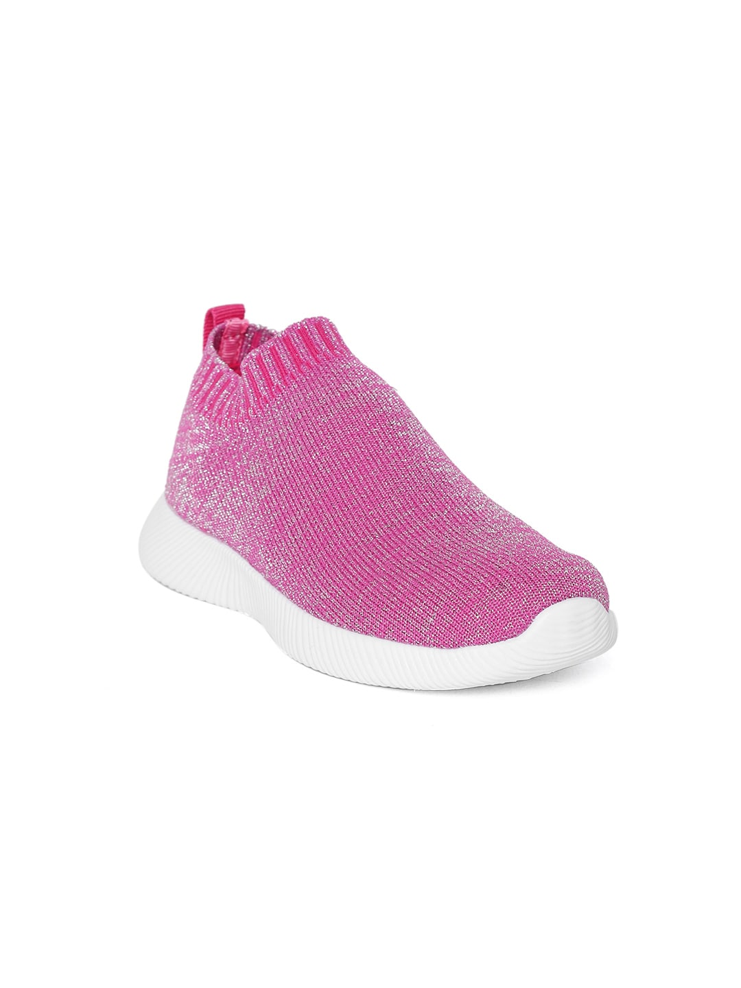 d9a6dfebbc United Colors of Benetton Girls Pink Slip-On Sneakers