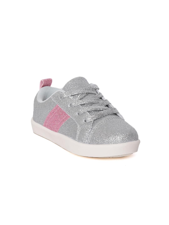 reputable site 26eca b913b Silver Sneakers - Buy Silver Sneakers online in India