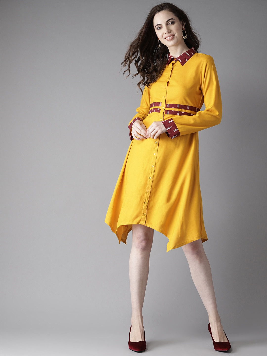3884f7becbb Yellow Dresses - Buy Yellow Dresses online in India