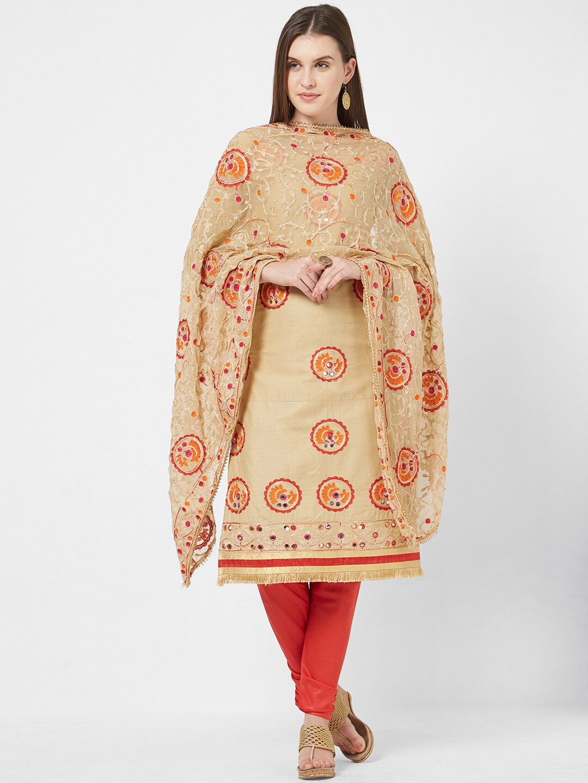 fbd8a1c4737 Beige Dress Material - Buy Beige Dress Material online in India