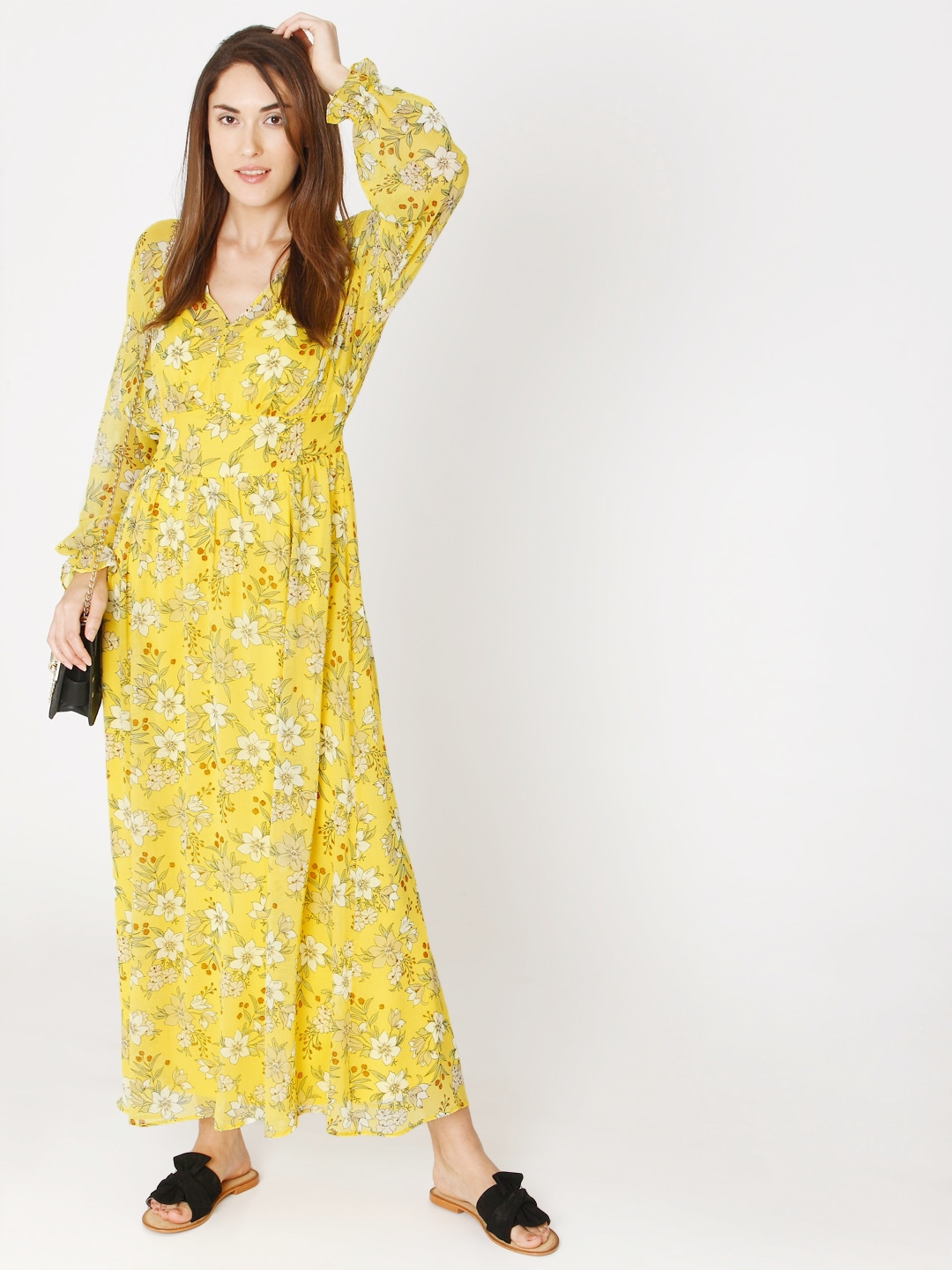 be2737bcc57b Yellow Dresses - Buy Yellow Dresses online in India