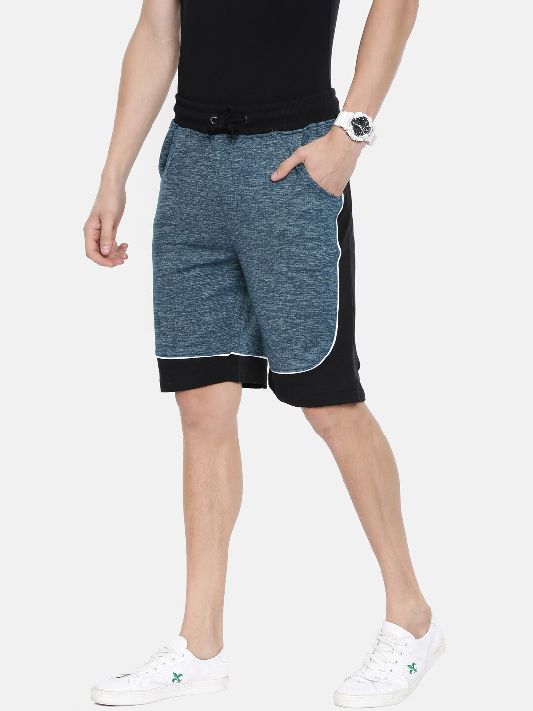 reputable site 2fcad 583fd Men Shorts - Buy Shorts   Capris for Men Online in India   Myntra