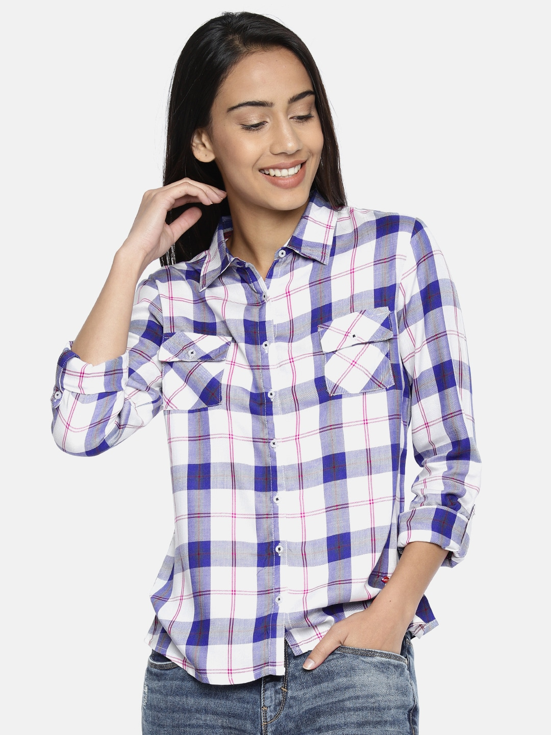 dd0c8505583 Women Shirts - Buy Shirts for Women Online in India