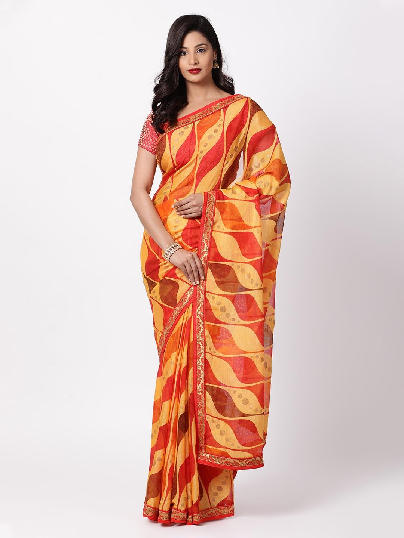 b14304a1e67187 Soch Sarees Sarees Blouse - Buy Soch Sarees Sarees Blouse online in India