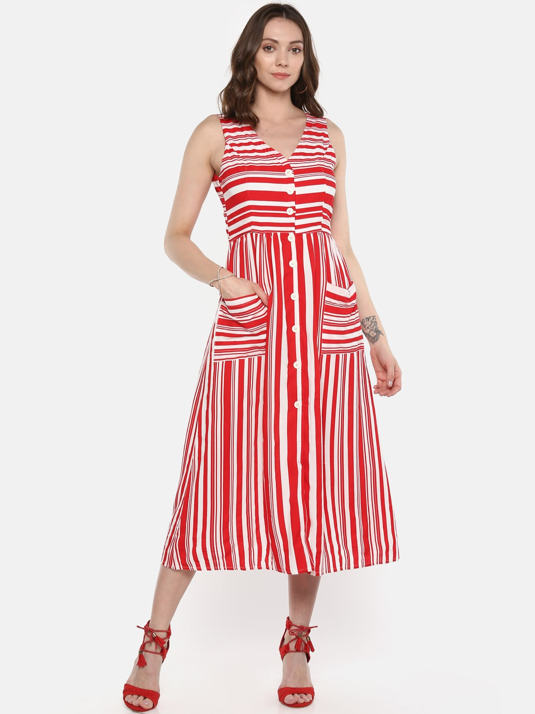 1adddfa446c Red Dress - Buy Trendy Red Colour Dresses Online in India