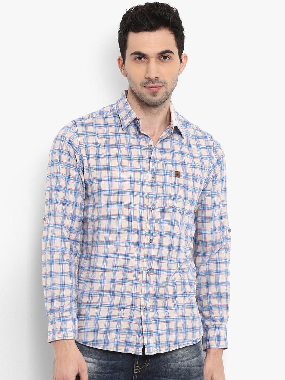 f402cc78 Mufti Chinese Collar Shirts - Buy Mufti Chinese Collar Shirts online in  India
