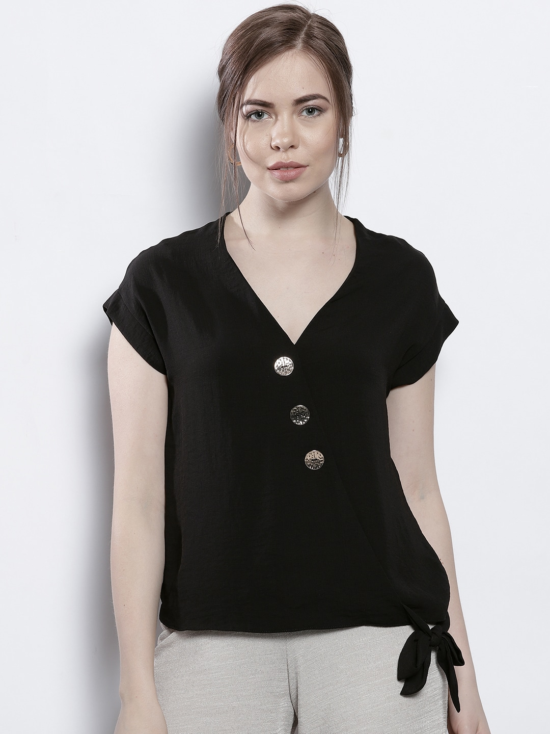 ce8c0875fee Wrap Tops - Buy Wrap Tops online in India
