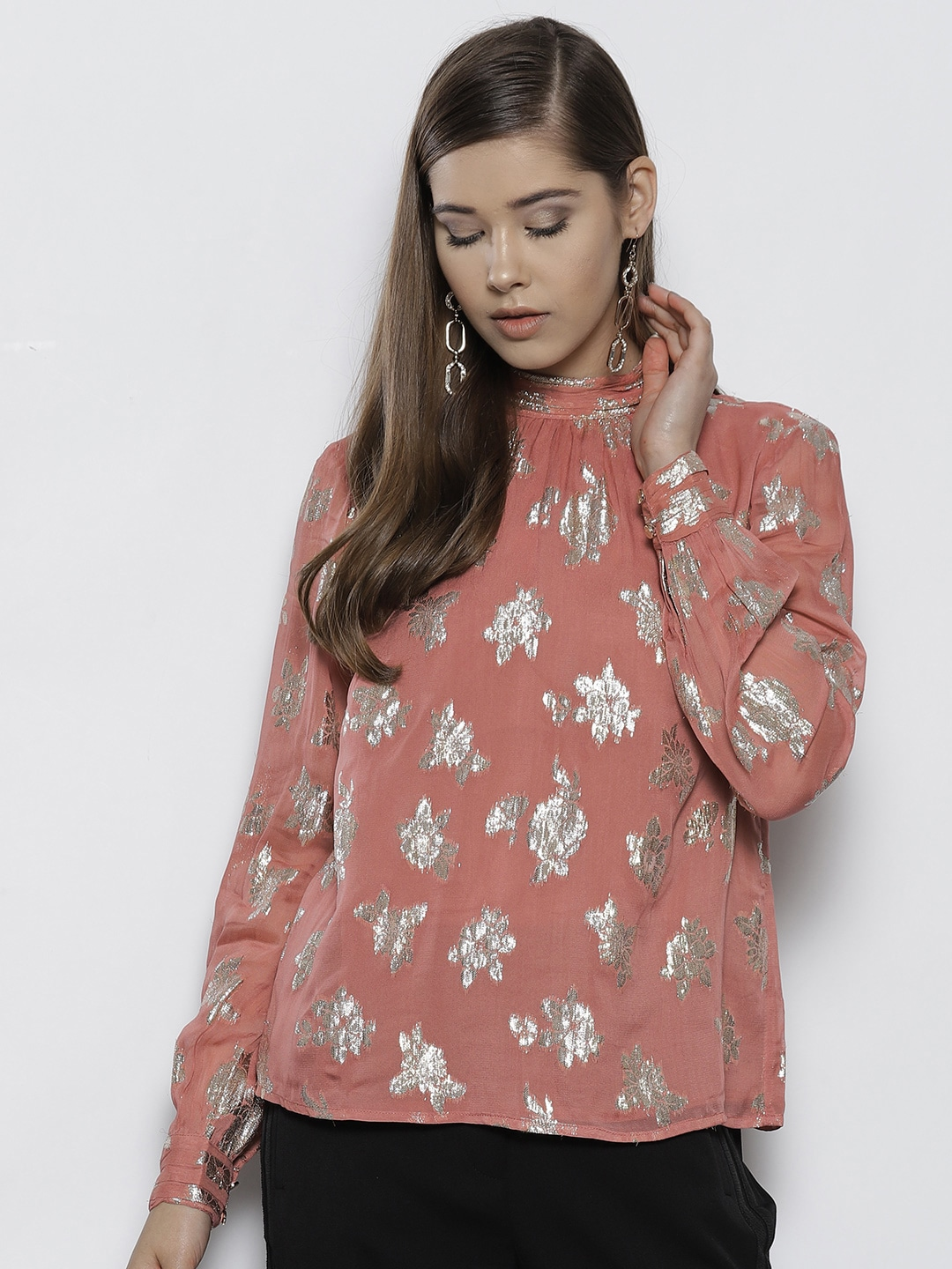 9db94f1ffab2c9 Long Sleeve Tops - Buy Women s Long Sleeve Tops Online from Myntra