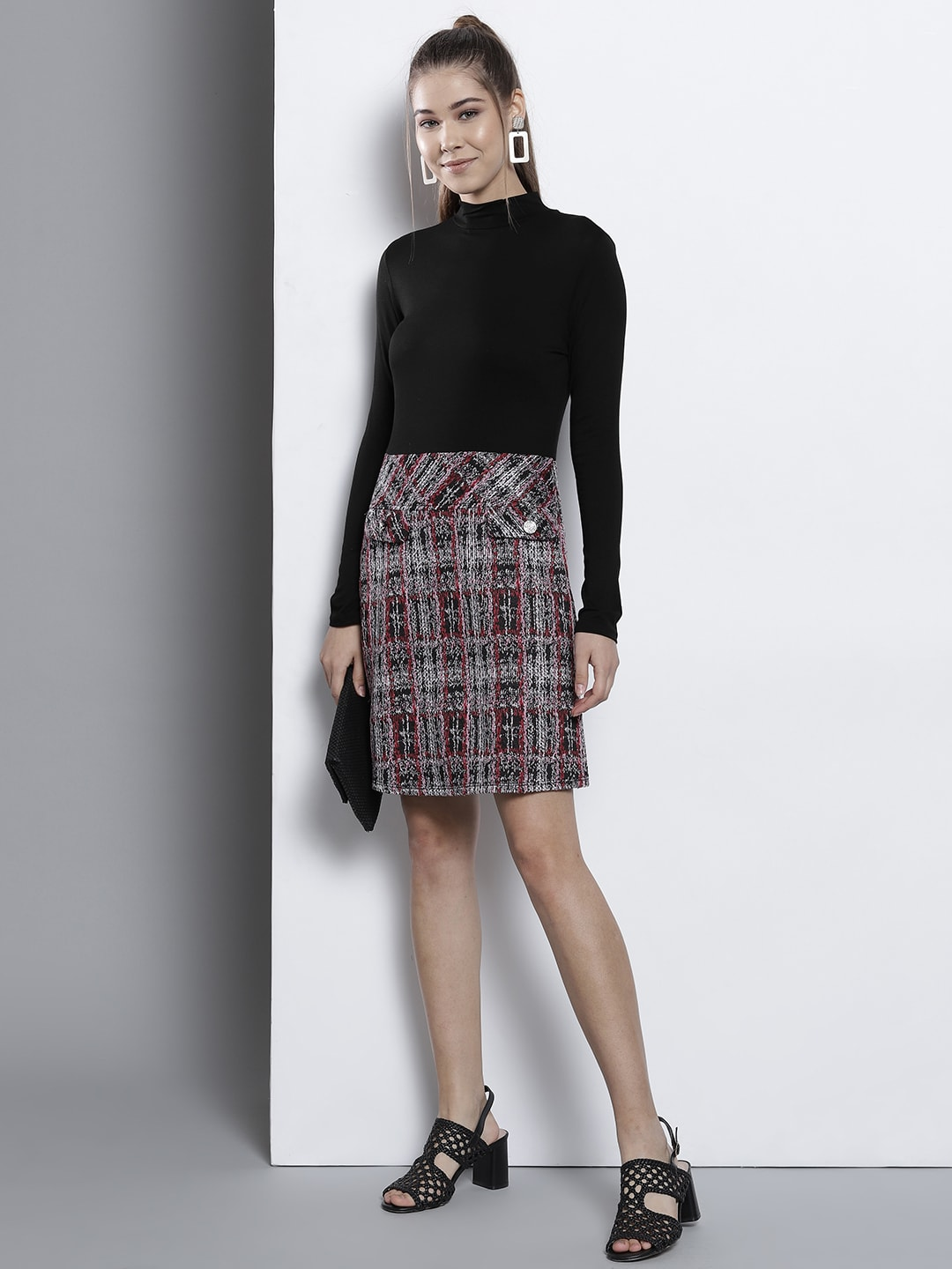 33fc32fe060 Checked Dresses - Buy Checked Dresses online in India
