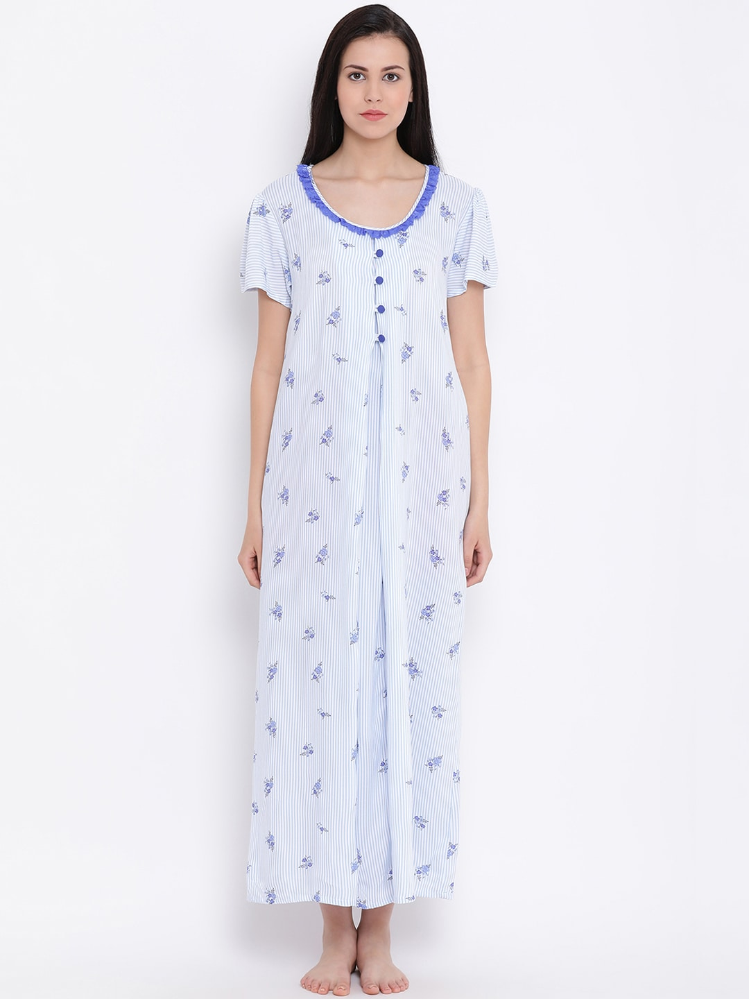 636058a4f Cotton Nightdresses - Buy Cotton Nightdresses Online in India