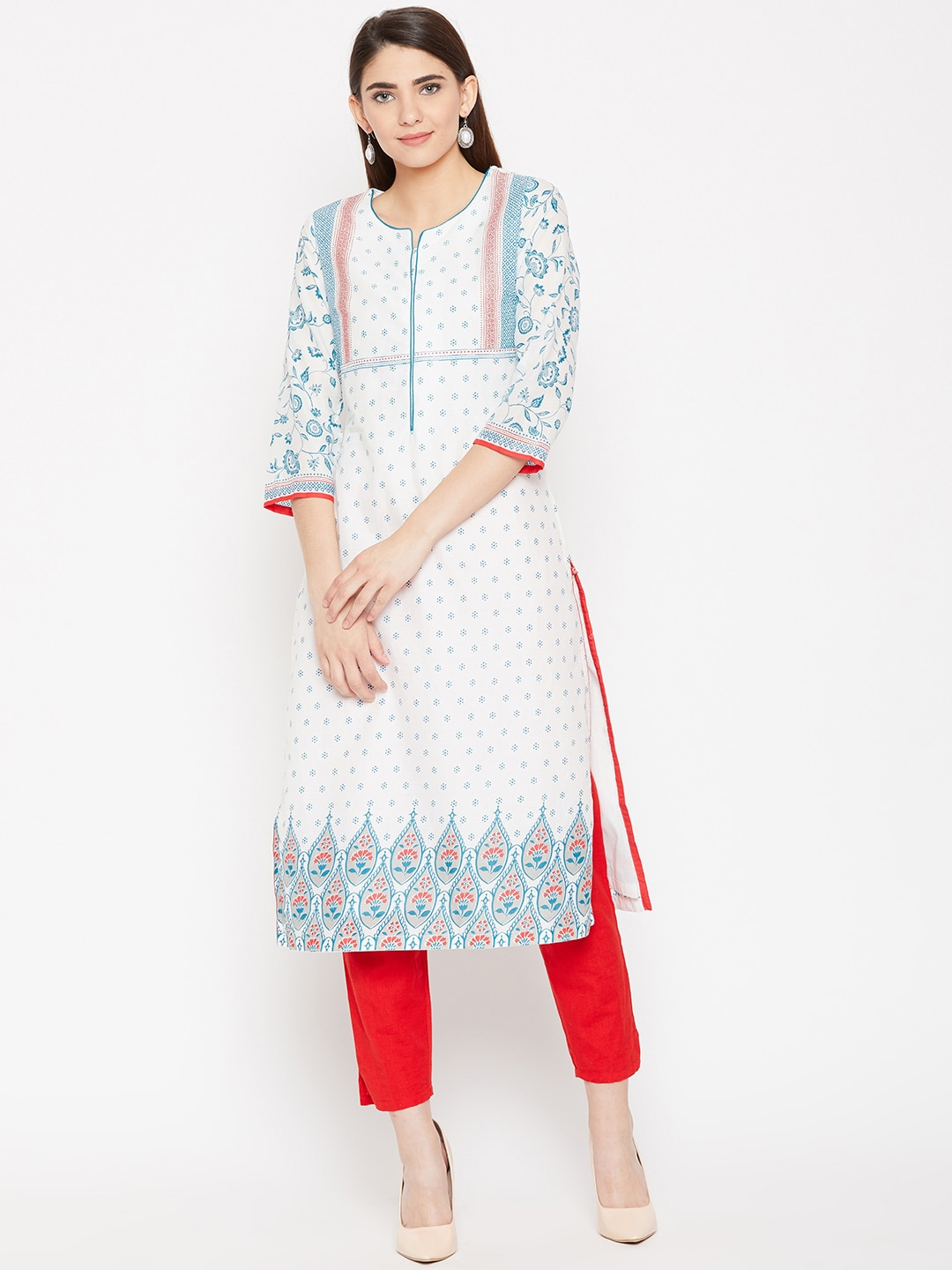 a8cd7545f Kurtis Online - Buy Designer Kurtis   Suits for Women - Myntra