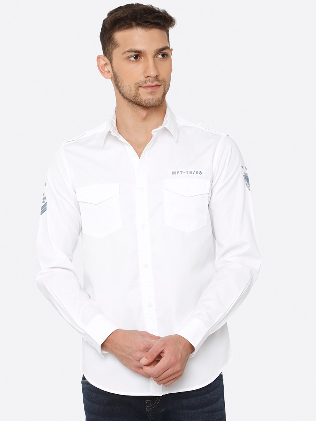 3b4a907ba Mufti Shirts - Buy Mufti Shirt For Men Online in India