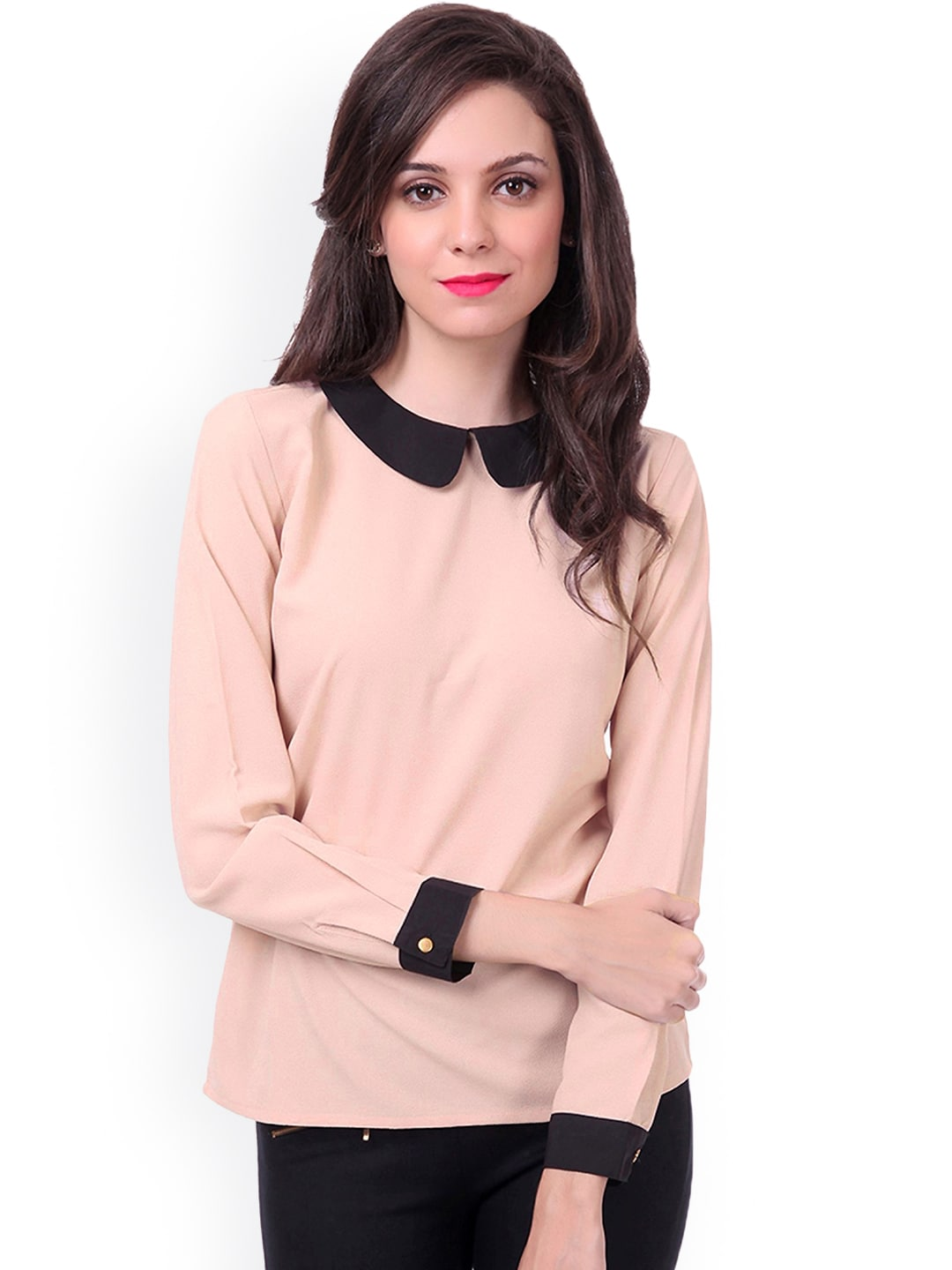 Formal tops for girls on jeans images for Myntra t shirt design