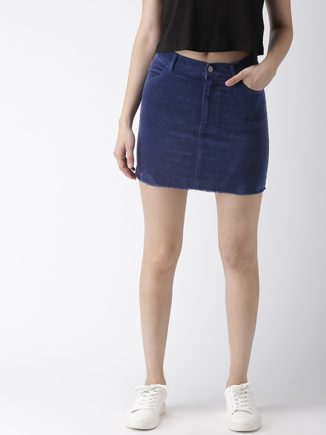 cebd0572e Forever 21 Button Skirts - Buy Forever 21 Button Skirts online in India