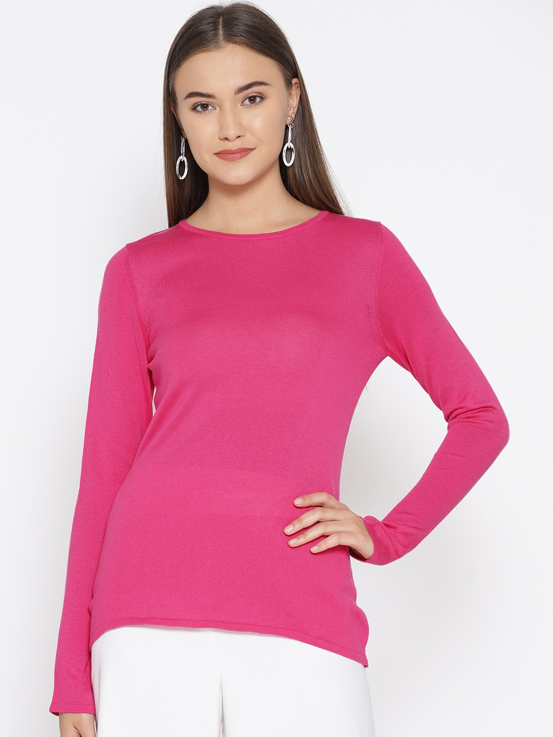 ae68d1811ed Sweaters for Women - Buy Womens Sweaters Online - Myntra