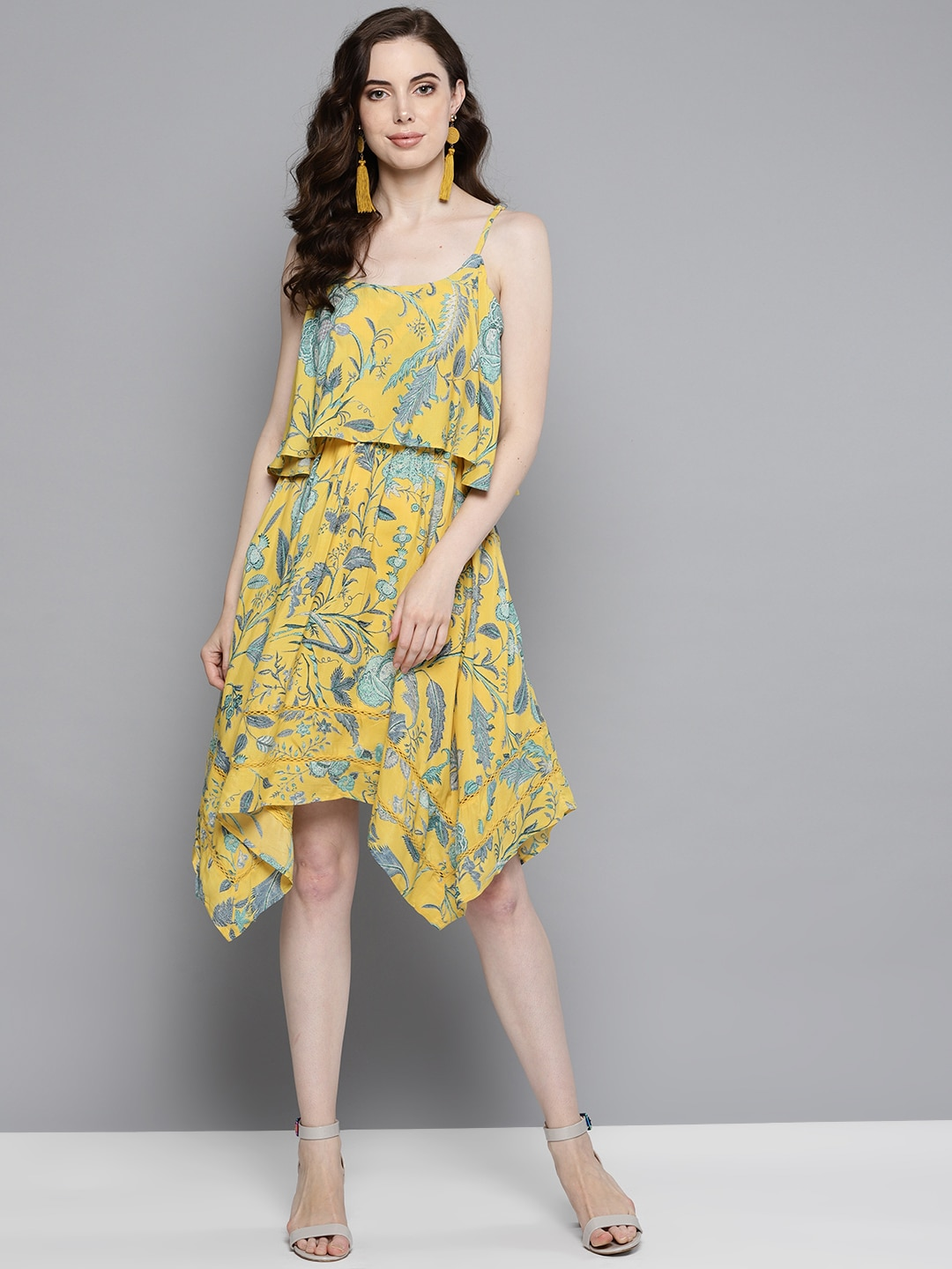 0221b3f3500 Ruffle Dresses - Buy Ruffle Dresses online in India