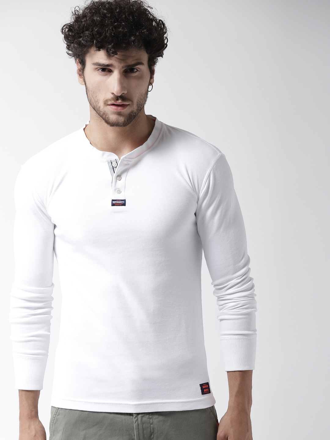 a985bb30adf Superdry Long Sleeve Tshirts - Buy Superdry Long Sleeve Tshirts online in  India