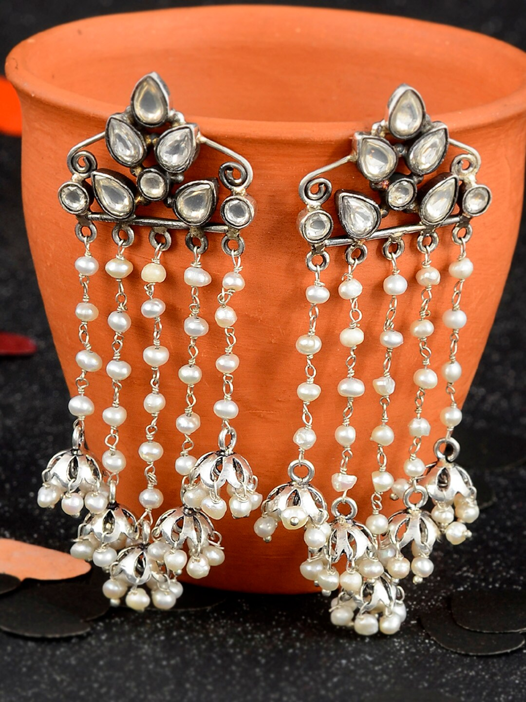 d0dd53e56 Women Earrings Dupatta Sweaters - Buy Women Earrings Dupatta Sweaters online  in India