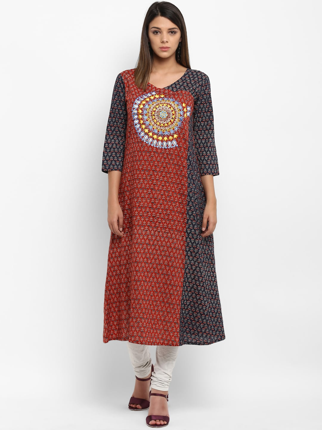 db66f48c077 Embroidered Kurta - Buy Embroidered Kurta Online in India