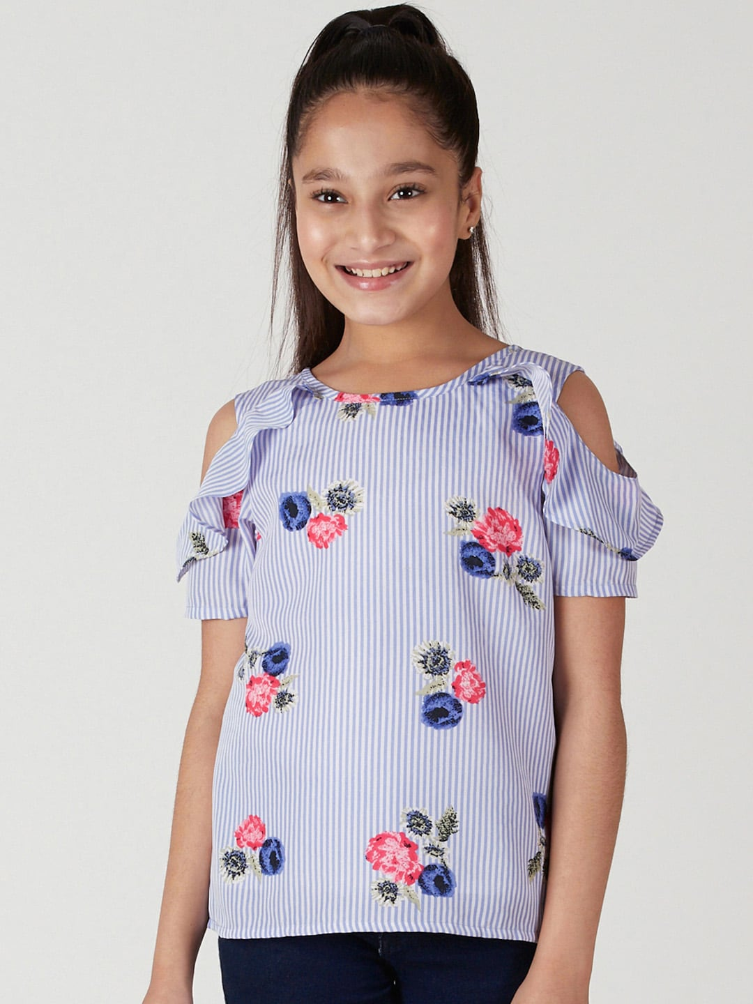 05d11be8123 Girls Tops - Buy Stylish Top for Girls Online in India