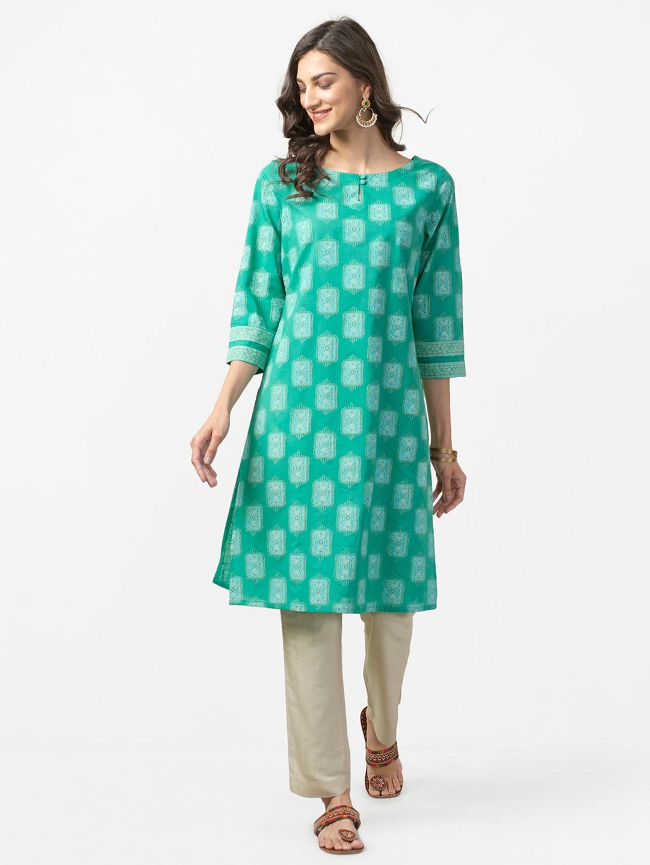 164fbeb15d9 Cotton Anarkali Kurtas - Buy Cotton Anarkali Kurtas online in India