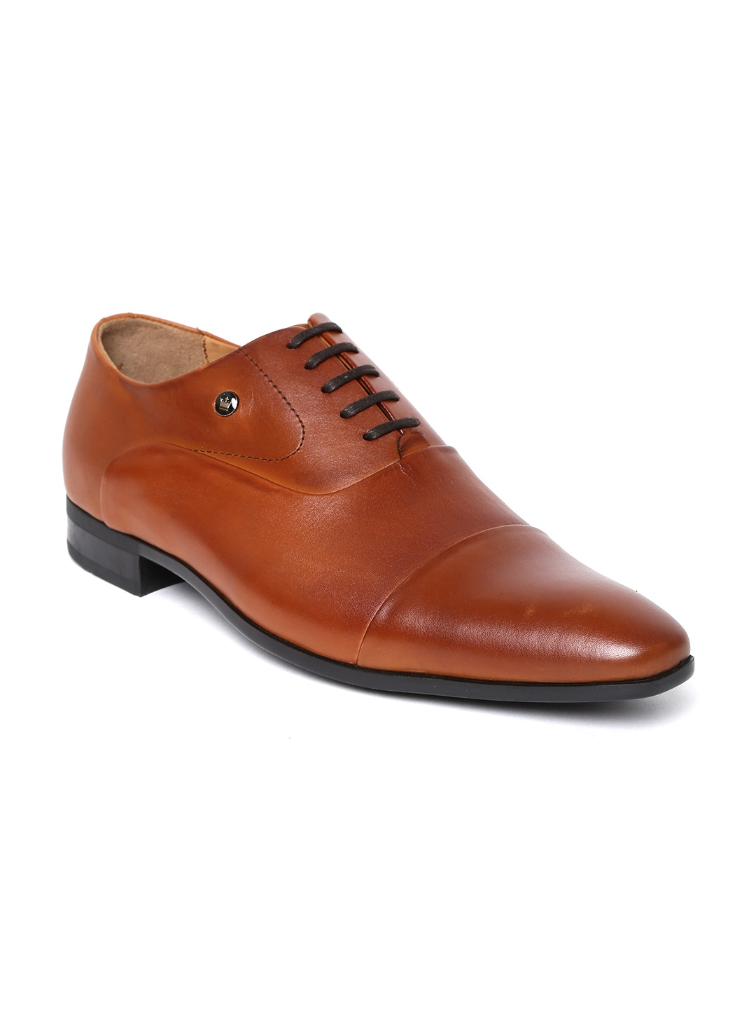 cdc712637 Brown Formal Shoes - Buy Brown Formal Shoes Online in India