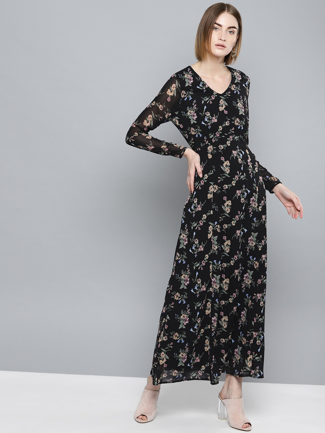 29499ea52f3 Long Sleeve Gowns - Buy Full Sleeve Gown Online in India