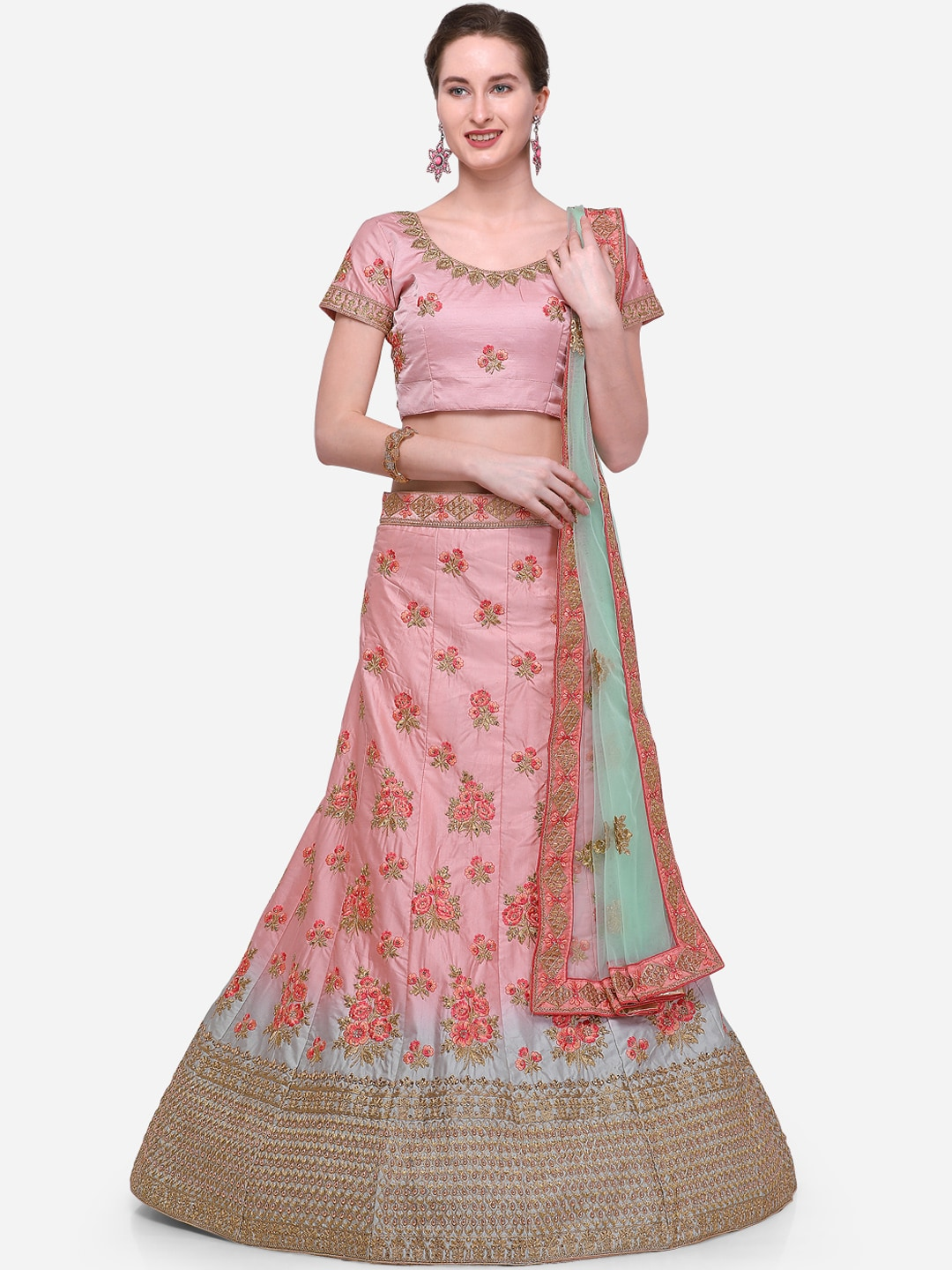 b0bf22fb1 Silk Lehenga - Shop for Silk Lehenga Choli Online