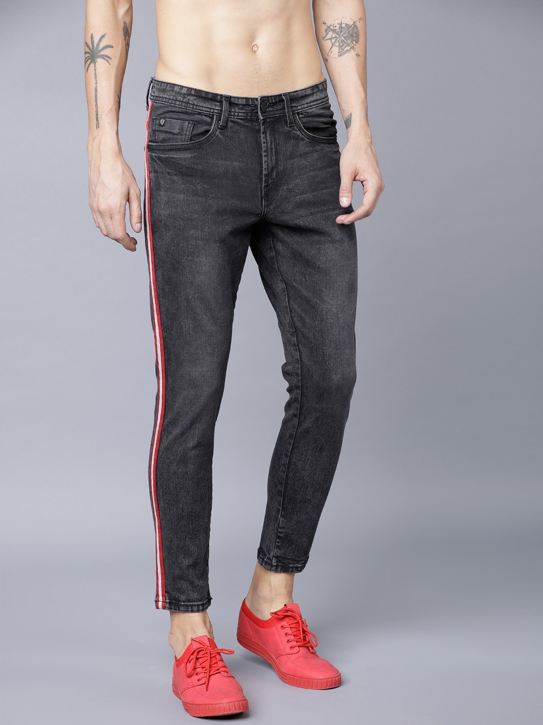 7d0d94ac3b7c Tapered Jeans - Buy Tapered Jeans Online in India