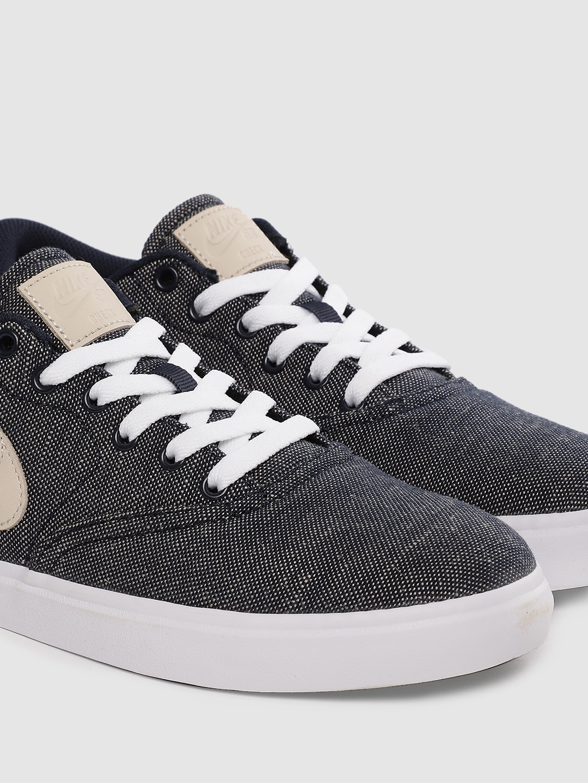 Nike Women Blue SB CHECK SOLAR Skateboarding Shoes