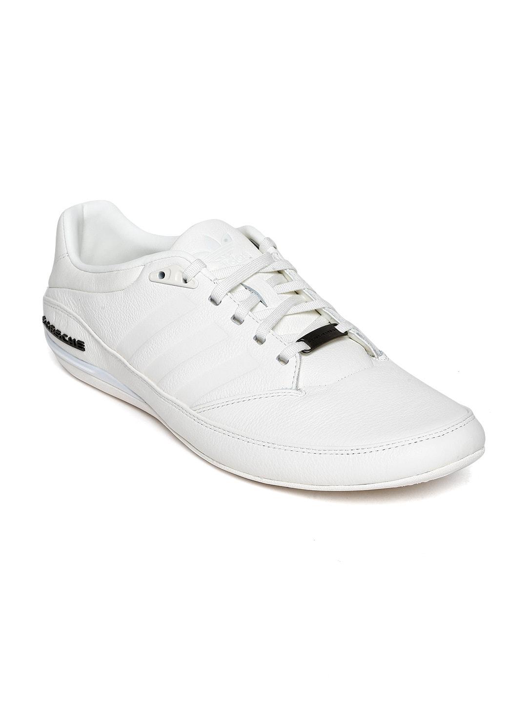 official photos 1040e 40617 ADIDAS Originals Men White Porsche TYP 64 2.0 Leather Casual Shoes