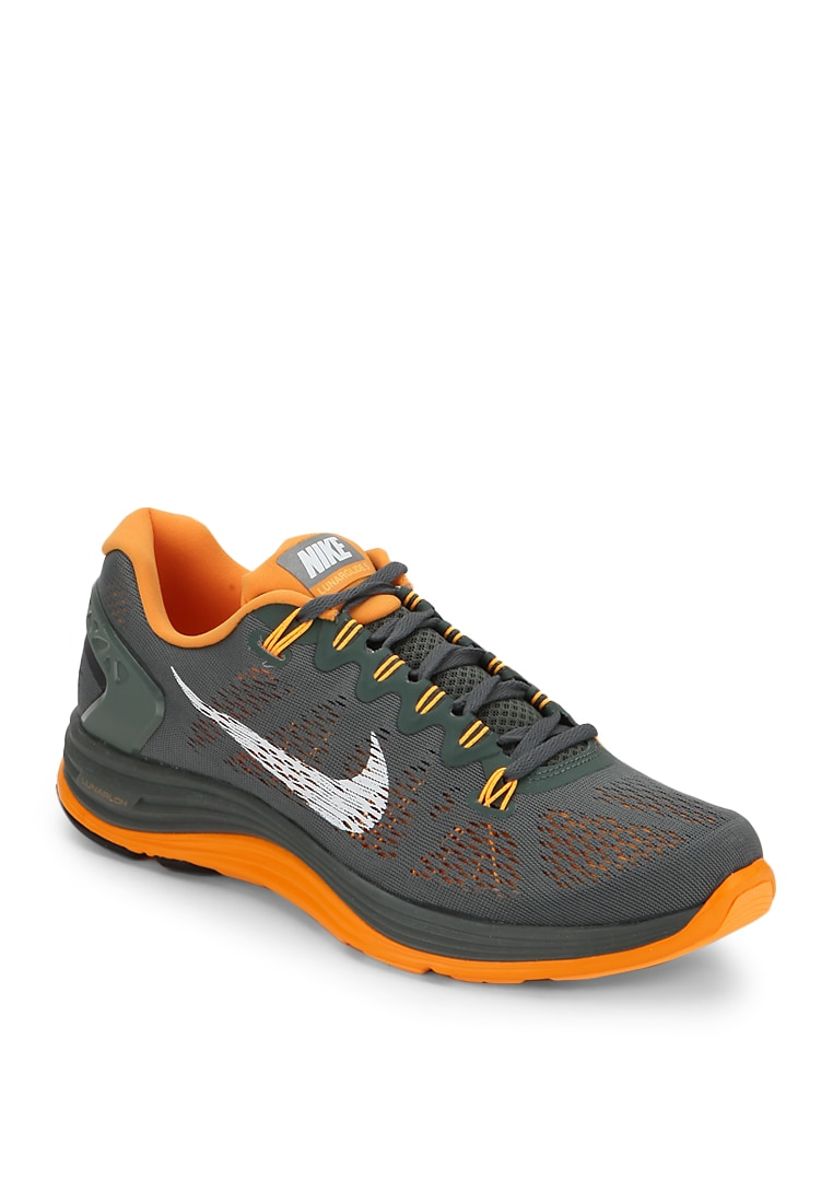 huge discount 13314 a5968 Buy Nike Lunarglide+ 5 Green Running Shoes Online - 3737521 - Jabong