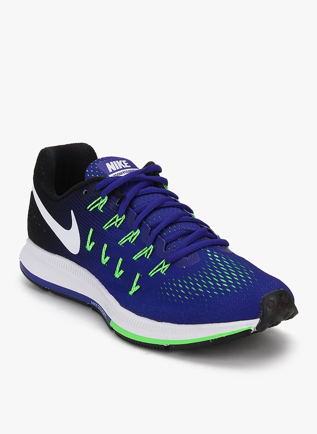 Nike Air Zoom Pegasus 33 Black Running Shoes