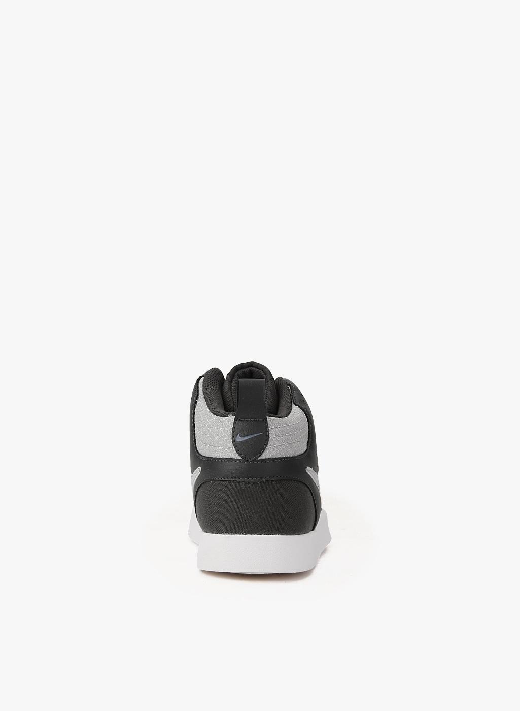 6854e18b467 Nike Liteforce Iii Mid Dark Grey Sneakers