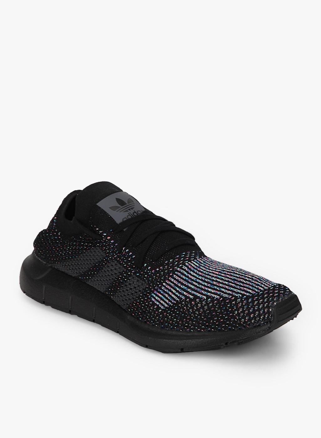 ADIDAS Originals Swift Run Pk Black Sneakers
