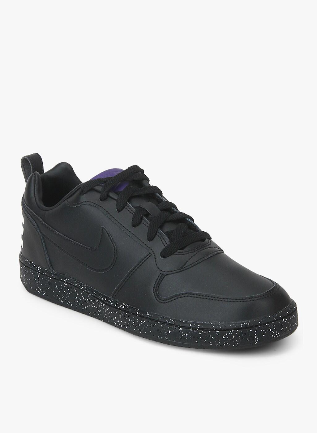 Nike Court Borough Low Se Black Sneakers