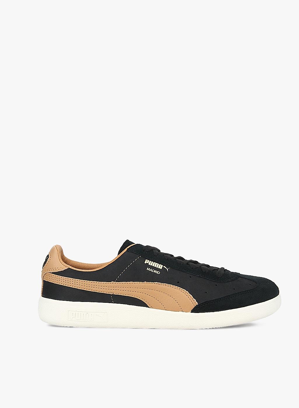 Buy Puma Madrid Tanned Black Sneakers Online 5767007 Jabong