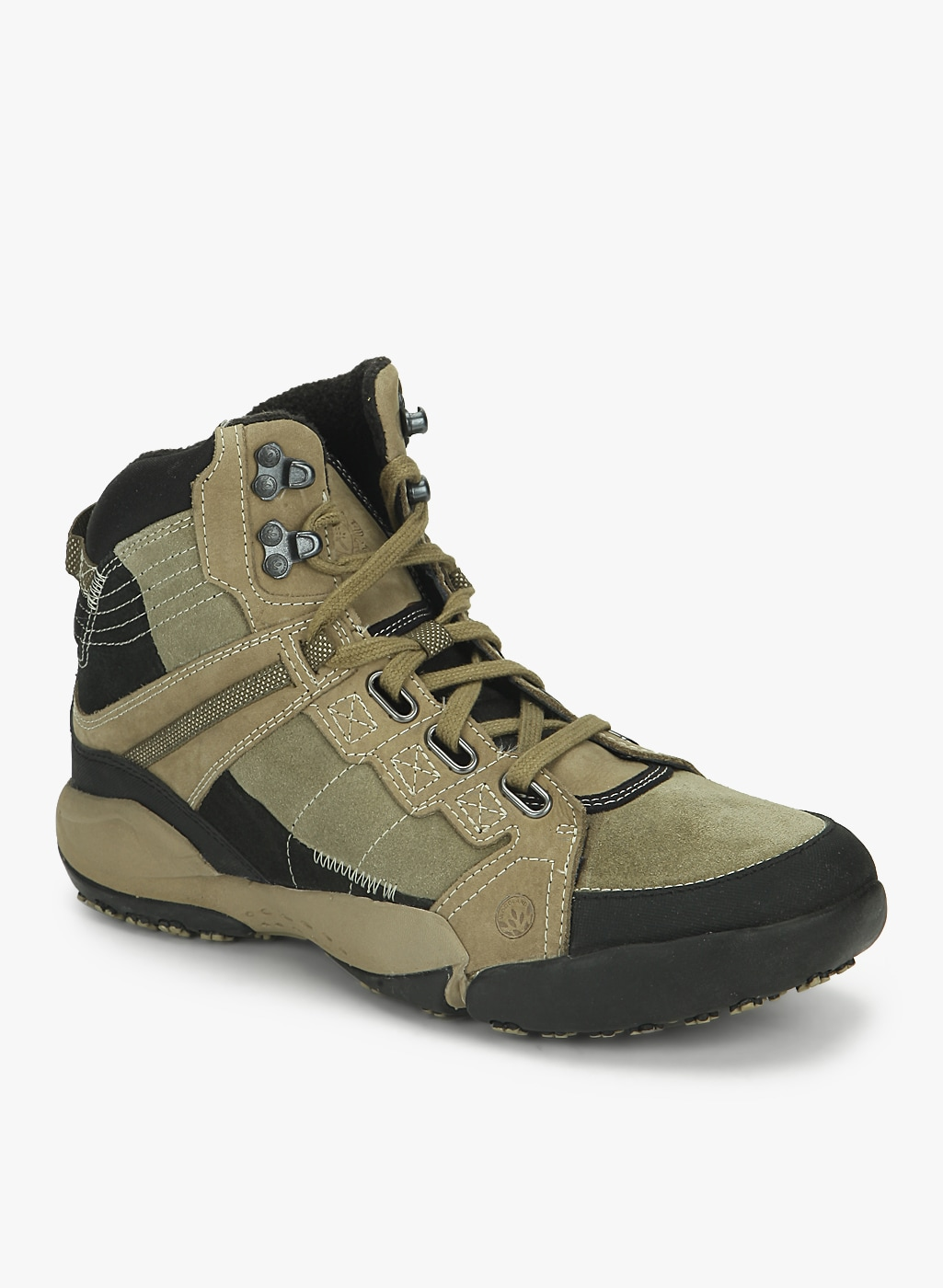 Buy Woodland Olive Outdoor Shoes Online