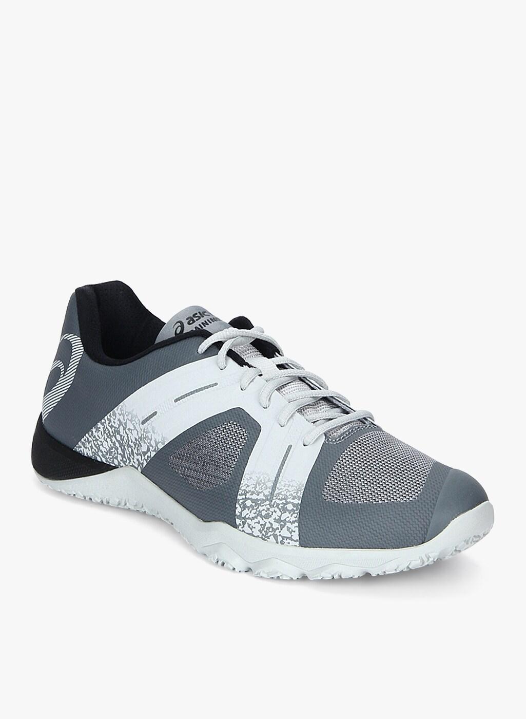 ASICS Conviction X 2 Grey Training Shoes