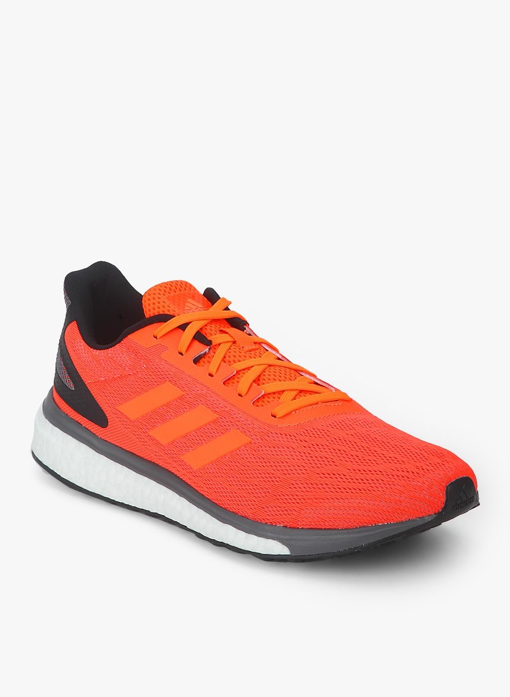 Adidas Men Orange Black Running Shoes - Buy Adidas Men Orange Black Running  Shoes online in India 431f33996