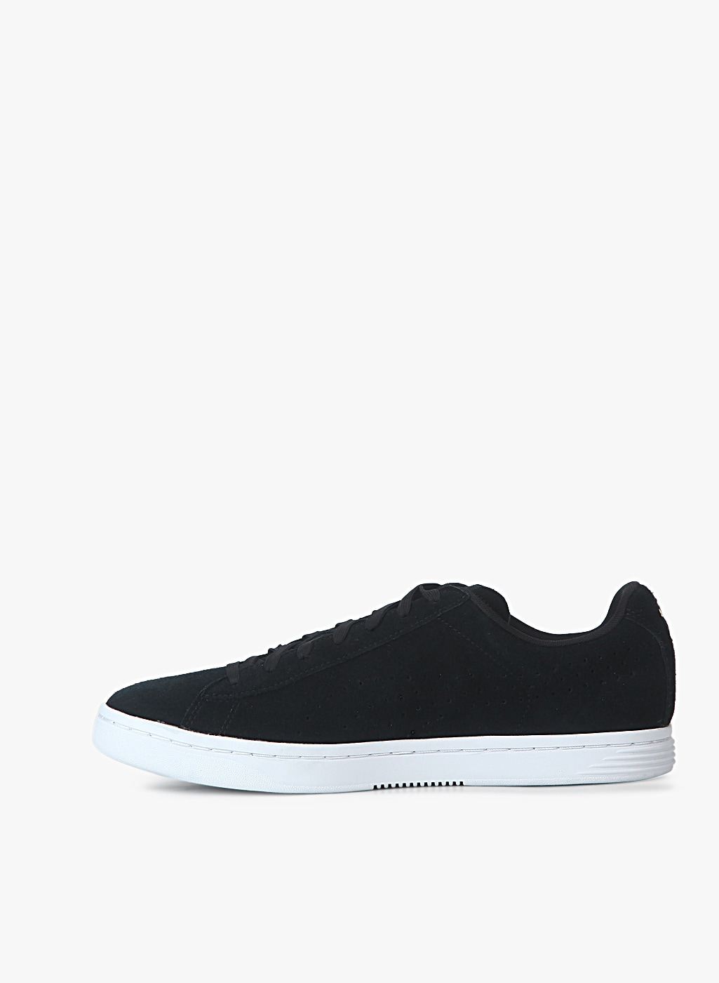 Court Star Suede Black Sneakers