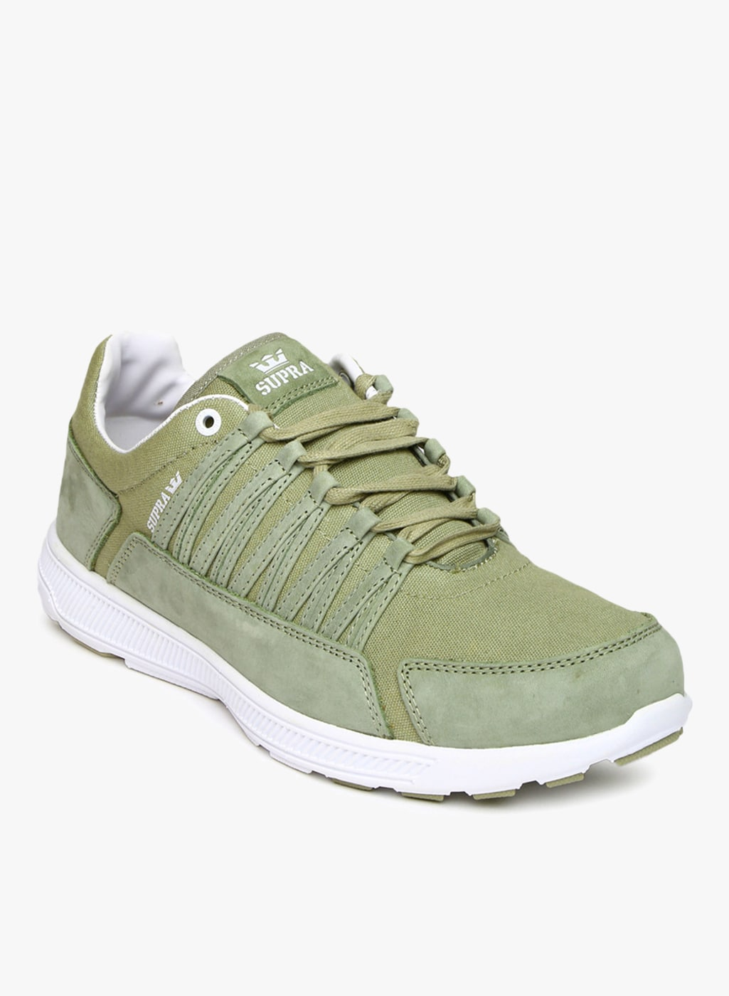 da567acba7929e Supra Olive Casual Shoes - Buy Supra Olive Casual Shoes online in India