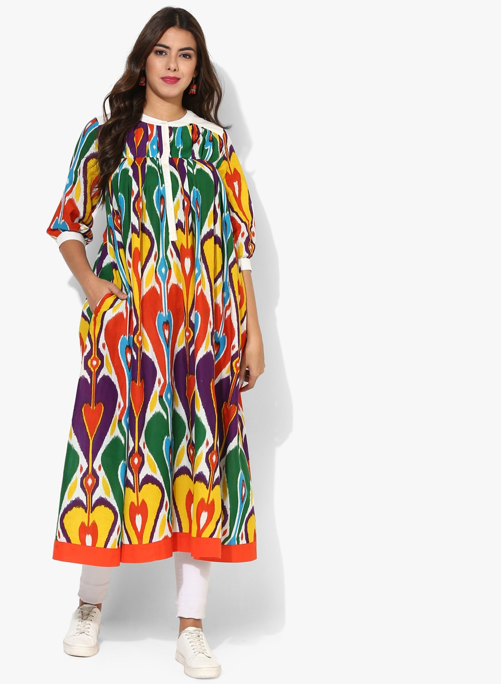 a749ade14a8 Ikat Kurtas - Buy Ikat Kurtas online in India