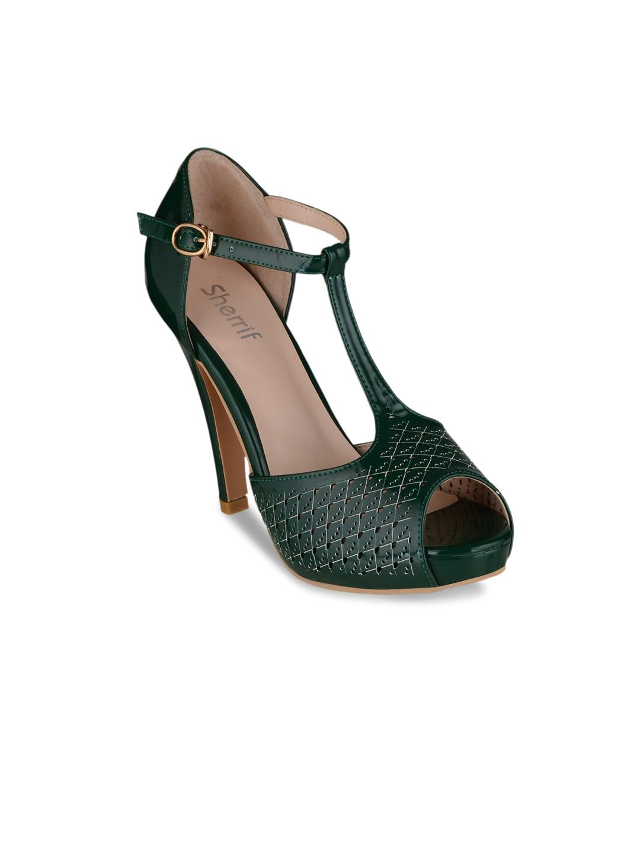 b656177504b Green Heels - Buy Green Heels online in India